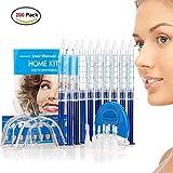 HailiCare 200 Teeth Whitening Kit, White LED, 44% Dental Bleaching System, Tooth Whitener (200 LED Kits)