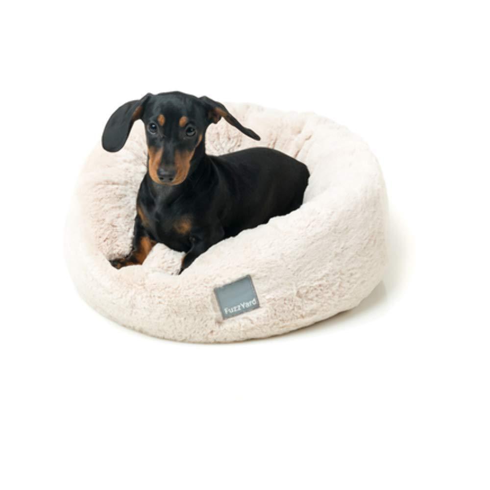 FuzzYard Eskimo Dog Bed Cream Medium