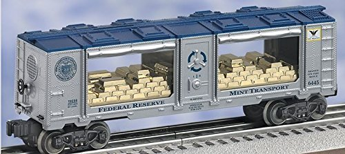 LIONEL Trains 6-19698 San Francisco Federal Reserve Mint Car 6445 Gold - San Outlets Francisco Factory
