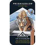 PRISMACOLOR WATERCOLOR Pencil, Colored Pencils, Box of 36, Assorted Colours (4066)