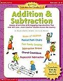 Addition and Subtraction, Deborah Rovin-Murphy, 0439296463
