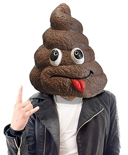 Poop Costumes (BigMouth Inc Original Doo Doo Head Mask)