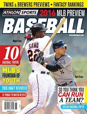 Athlon Sports 2016 MLB Preview Baseball Magazine - Minnesota Twins/Milwaukee Brewers ()