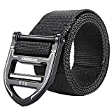 KingMoore Tactical Belt, Military Style Webbing