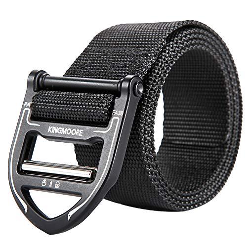 KingMoore Tactical Belt, Military Style Webbing