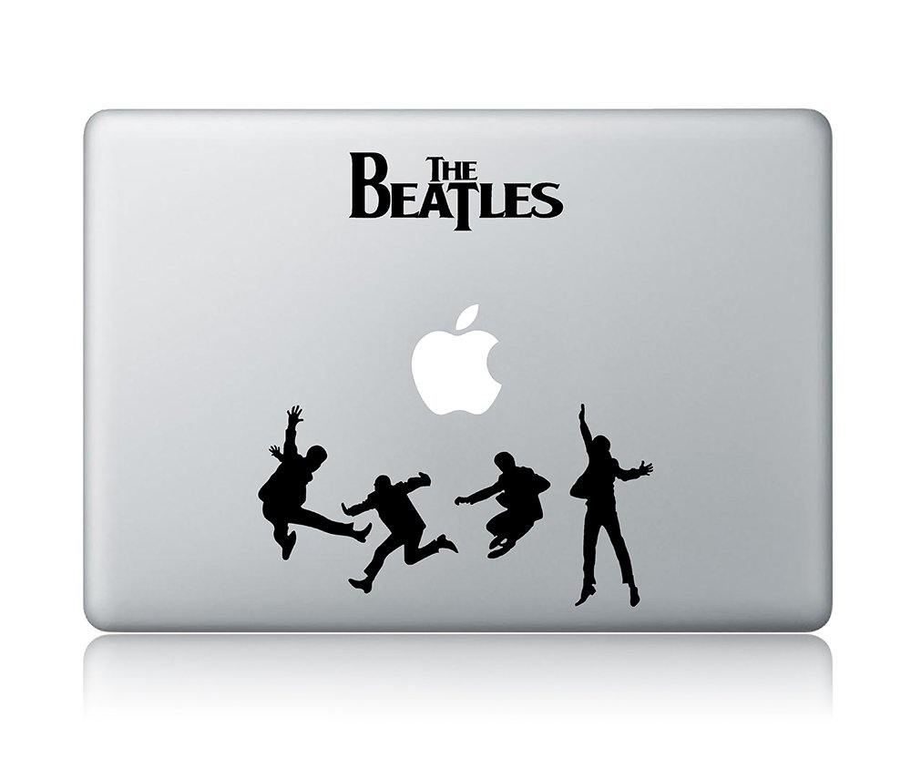 Amazon com the beatles macbook decal vinyl sticker apple mac air pro laptop sticker computers accessories