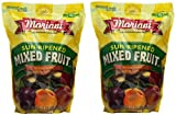 Mariani pbZkab Sun Ripened Mixed Fruit No Sugar Added Dried Fruit, 36 Ounce (2 Pack)