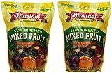 Mariani pbZkab Sun Ripened Mixed Fruit No Sugar Added Dried Fruit, 36 Ounce (2 Pack)