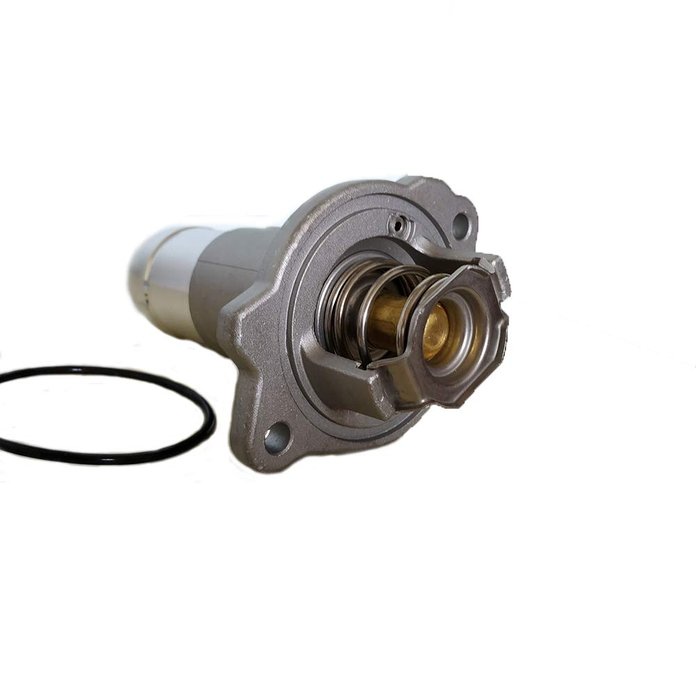1511073 12622316 fit for 2004-2012 Chevrolet Colorado//GMC Canyon 2006-2010 Hummer H3 Isuzu Engine Coolant Thermostat and Housing Assembly Replaces 15-11073