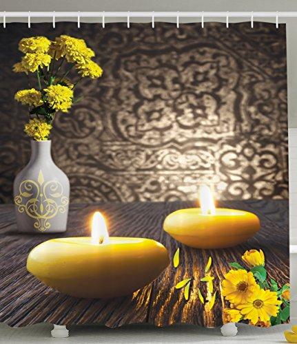 Yellow Asian Fabric - 2