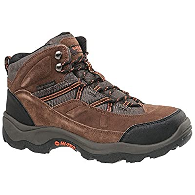 Hi-Tec Sports - 57009W - 6H Men's Work Boots, Steel Toe Type, Brown, Size 8