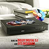 DVD Player, ELECTCOM DVD Player for TV, HD 1080p