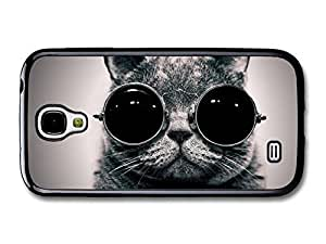AMAF ? Accessories Funny Cat Animal Sunglass Case fits Samsung Galaxy S4 by mcsharks