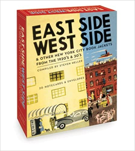 Read online East Side West Side (Boxed Notecards): New York City Book Jackets from the 1920's and 30's PDF, azw (Kindle), ePub