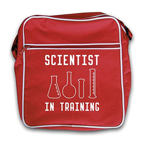 Scientist Red In Training Black In Bag Training Retro Flight Scientist HrwSH1q