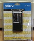 Sony Microcassette Recorder M-740