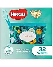 Huggies Baby Wipes Refillable Clutch 'N' Go 32 Wipes