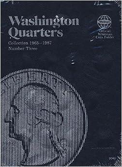 ,,PORTABLE,, Washington Quarter Folder 1965-1987 (Official Whitman Coin Folder). Enroll seguents edition marche whether Robert