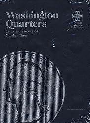 Washington Quarter Folder 1965-1987 (Official Whitman Coin Folder)