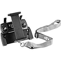 DJI Mavic Air Pro Platinum Spark Tablet Holder – UZOPI Aluminum-Alloy Adjustable Remote Controller Accessories Bracket Mount Extender with Neck Lanyard Strap for 4-12 Inch Phone Tablets