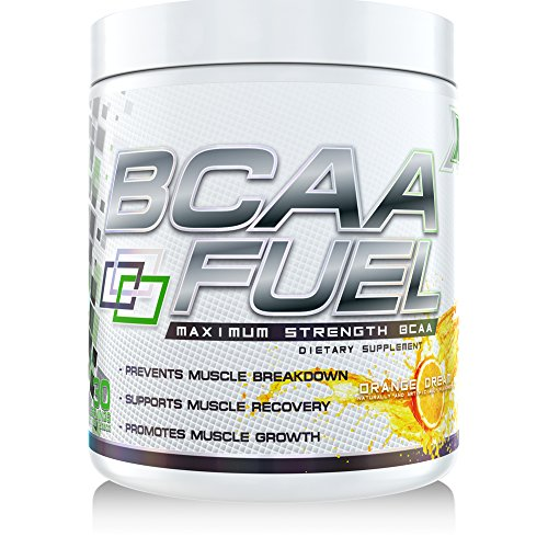 GenetX #1 BCAA Powder with AminoBlast® L-Leucine, Orange Dream, 30 servings.