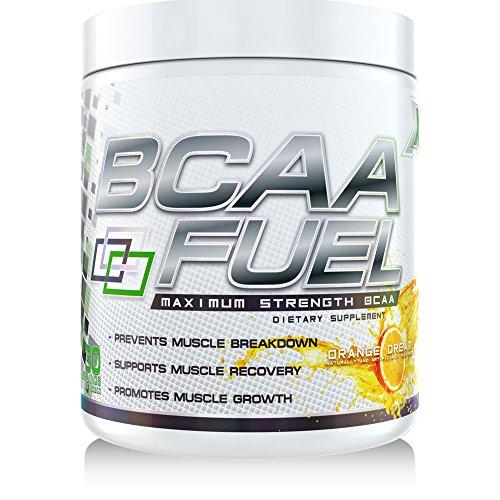 GenetX #1 BCAA Powder with AminoBlast® L-Leucine, Orange Dream, 30 servings.