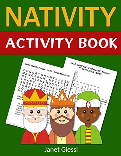 Nativity Activity Book: Bible-Based Activities That Tell the Story of the Miracle of Jesus' Birth