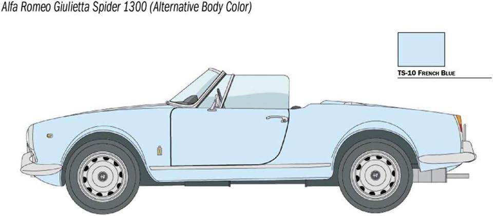 Plastic Model w//Japanese Instruction Paper 1//24 Alfa Romeo Giulietta Spider 1300