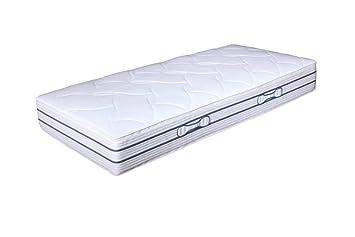 Hn8 Duo Luxe - Doble 7 Zonas ttfk colchón 80 x 200 cm H 2=Mediano: Amazon.es: Hogar