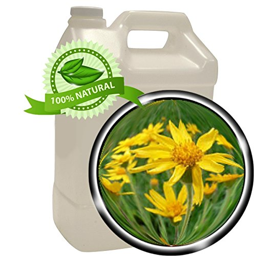 Arnica Oil Extract (Arnica Montana) - 1 gallon (128oz)- Pure and Potent- Anti-inflammatory for Sore Muscles, Bruises, Sprains, Fractures, Natural Pain Remedy, Sunburn, Post-Surgery Bruising.