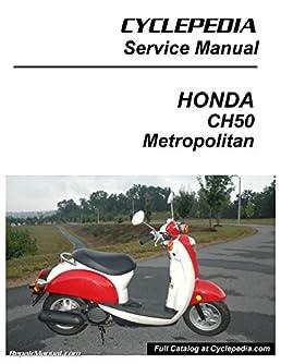 Cpp 171 Print Chf50 Metropolitan Honda Scooter Service Manual Rh Amazon Com  2002 Honda Metropolitan II