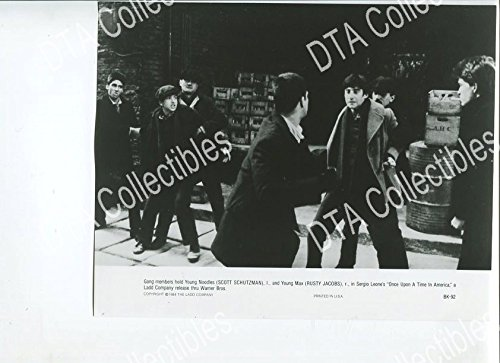 In the good old days UPON A TIME IN AMERICA 7x9 PROMO STILL-NEW YORK CITY-RUSTY JACOBS VG