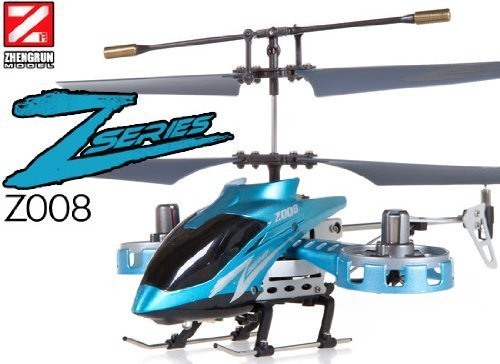 4 Channel Coaxial (Z008 4ch Co-axial Helicopter w/ Gyro)