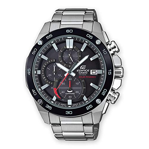 Casio Mens Analogue Classic Quartz Watch with Stainless Steel Strap ()