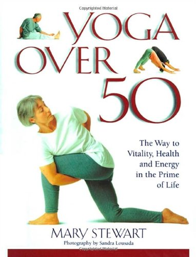 Yoga Over 50 Mary Stewart product image
