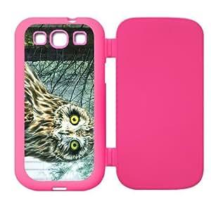 Cute Owl Custom Flip Case Cover Protector for SamsungGalaxyS3 I9300