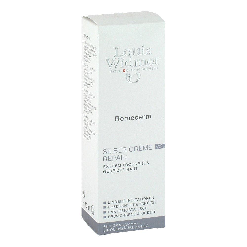 Louis Widmer Remederm Reparación de plata Crema, paquete 1er (1 x 75 ml): Amazon.es: Belleza