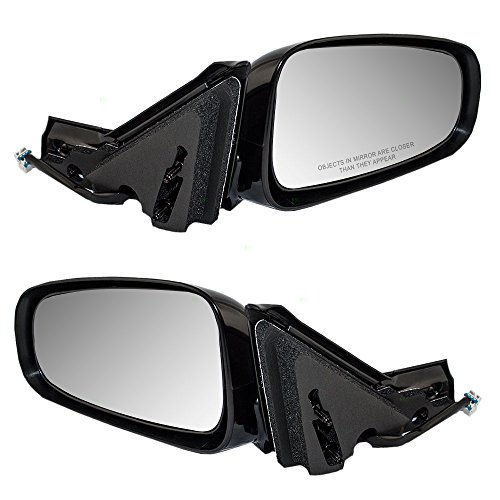 Driver and Passenger Power Side View Mirrors Replacement for Chevrolet Impala 10331492 10331491