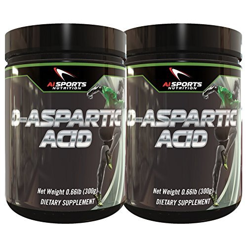 AI Sports DAA Twin Pack. Two 300 Gram Tubs of D-Aspartic ...