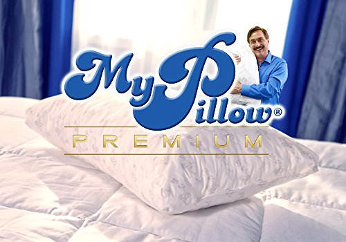My Pillow Premium Series Bed Pillow, Standard/Queen Size, Yellow Level (Single Pillow)