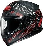 ショウエイ(SHOEI) バイクヘルメット フルフェイス Z-7 PERMUTATION【パーミュテーション】 TC-1 (RED/BLACK) L (頭囲 59cm)