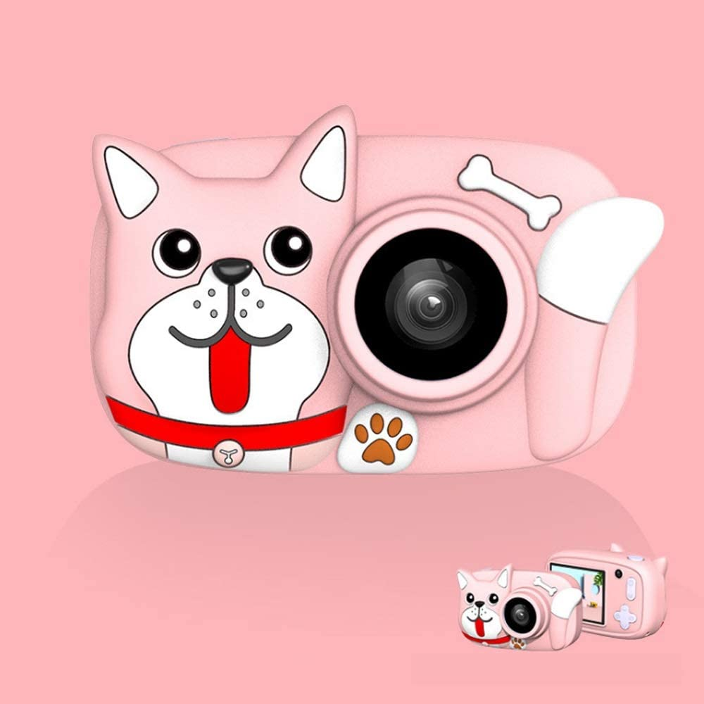 Amazon Com Yybest Kids Camera Toy For Girls Digital Camera 26 Mp For Children With Hd 1080p Video Recorder Mini Camera Usb Transfers Boys Girls Creative Xmas Gifts Color Pink