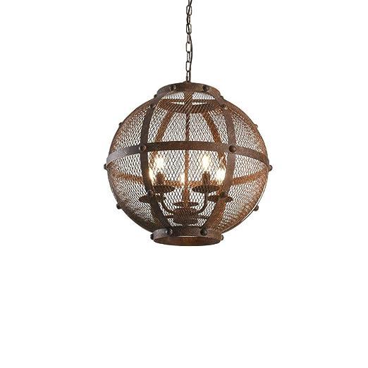 Retro Vintage Industrial iluminación pendiente rústico Natural ...