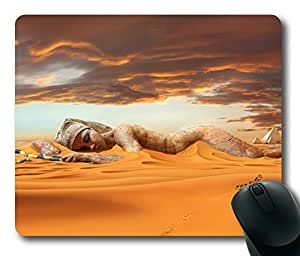 The Beauty of The Desert Rectangle mouse pad by Custom Service Your Best Choice