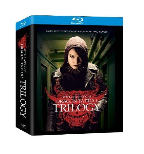 Blu-ray : The Stieg Larsson Trilogy (Boxed Set, 4PC)