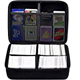 PAIYULE Extra Large Hard Case for Cards Against Humanity, Pokemon Trading,Phase 10,Monopoly, The Main Game, Fits Up to 1600 Cards