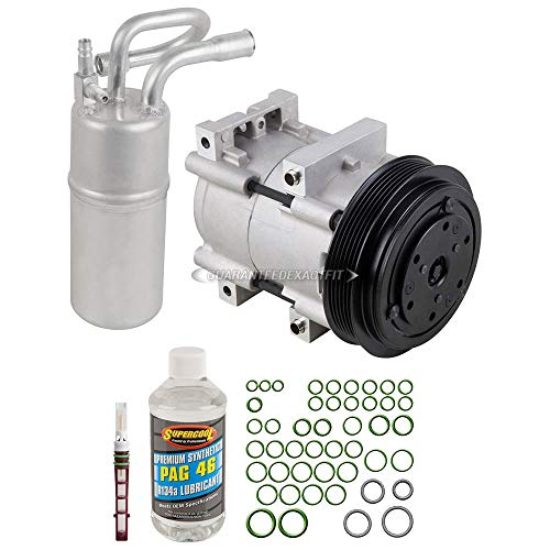 Ford Ranger A/c Compressor - AC Compressor w/A/C Repair Kit For Ford Ranger & Mazda B2300 1995 1996 1997 - BuyAutoParts 60-80214RK New
