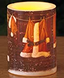 Holiday LED Candles (Santas Cottage)