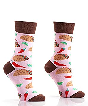 Yo Sox Quit Whining Funky Women's Crew Socks for Dress or Casual Wear Size 5-10 410735W