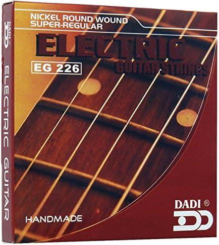 Dadi EG226 Juego de Cuerdas Para Guitarra Eléctrica: Amazon.es ...